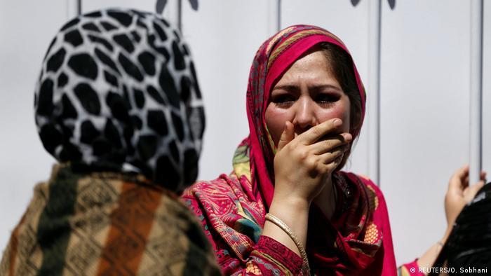 Afghansistan Deutsche Botschaft bei Anschlag in Kabul massiv beschädigt (REUTERS/O. Sobhani)