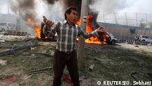 Afghanistan Deutsche Botschaft bei Anschlag in Kabul massiv beschädigt