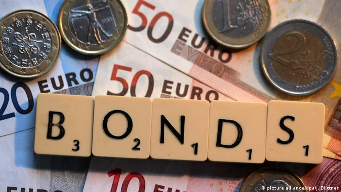 Symbolbild Eurobonds (picture alliance/dpa/J. Büttner)