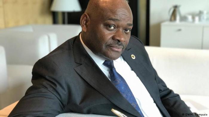 Raúl Danda, deputado da UNITA, maior partido da oposição em Angola