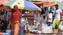 Kamerun Markt in Bangui