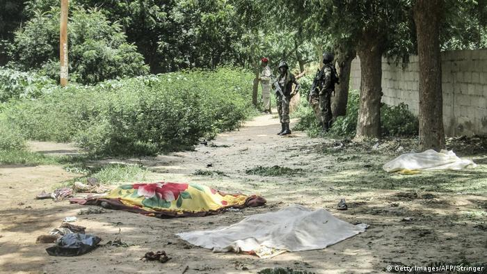 Kamerun Selbstmordattentat in Kolofate (Getty Images/AFP/Stringer)