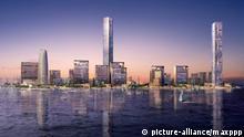 King Abdullah Economic City Architekturprojekt in Saudi-Arabien