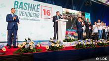 Political party electoral campaign in Kosovo-( LDK-AKR- Public Domain) Author: LDK Public Domain