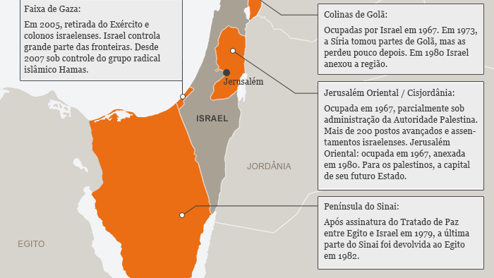 Karte Sechs Tage Krieg Israel brasilianisch
