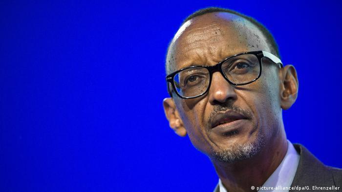 Rwandan leader Paul Kagame before 2017 electio
