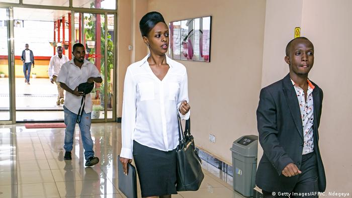 Diane Shima Rwigara has spoken out against injustice and oppression in Rwanda