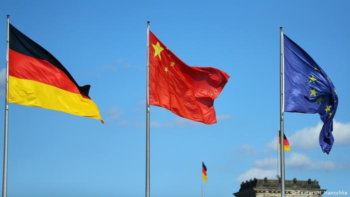 Deutschland Besuch chinesischer Premierminster Li Keqiang in Berlin