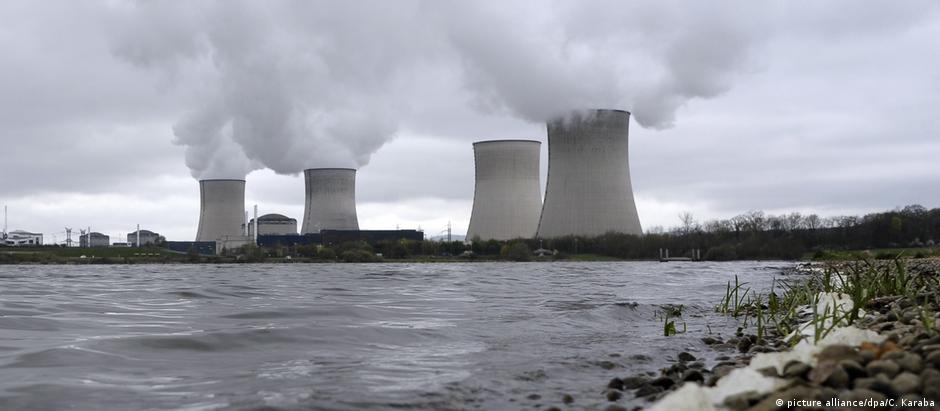 A usina nuclear de Cattenom, no nordeste da França