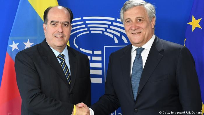 Belgien Julio Borges zu Besuch in Brüssel