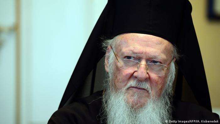 Глава Константинопольской православной церкви патриарх Варфоломей