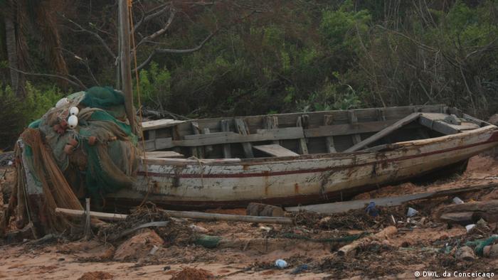 Mosambik Zerstörung duch Zyklon Dineo