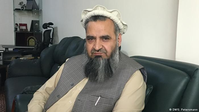 Maulawi Mohammad Qasim Halimi Sprecher Nationaler Religionsrat in Afghanistan (DW/S. Petersmann)