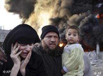 در حمله سه هفتهای اسرائیل به باریکه غزه دست کم ۱۱۰۰ نفر کشته شدند که حدود نیمی از آنان را زنان و کودکان تشکیل میدادند