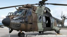 Spanien Helikopter AS 532 Cougar in Colmenar Viejo
