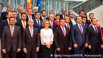 Η νέα κυβέρνηση της χώρας μετά από μήνες ακυβερνησίας