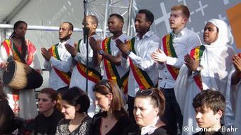 Deutschland Äthiopisch-orthodoxe Tewahedo St. Immanuel-Kirche in Berlin