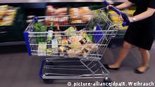 Deutschland Einkaufswagen