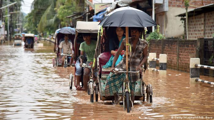 Floods in the Indian state of Assam