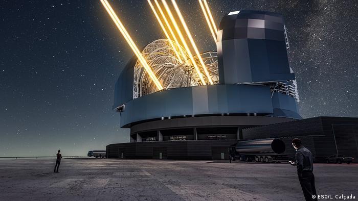 Inilah teleskop terbesar sejagad semua konten media dw 01.06.2017