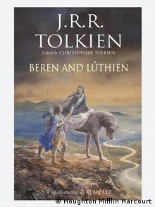 Book cover Beren and Luthien by J.R.R. Tolkien (Houghton Mifflin Harcourt)