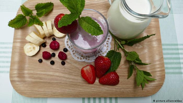 Erdbeer-Smoothie, Erdbeersmoothie
