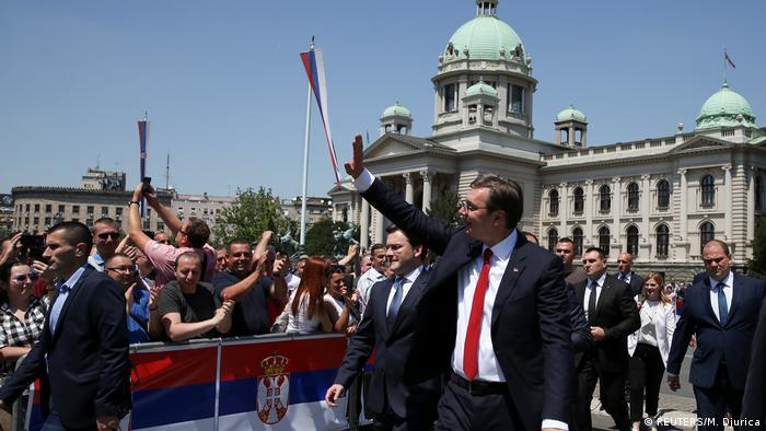 Serbien Aleksandar Vucic ist neuer Präsident