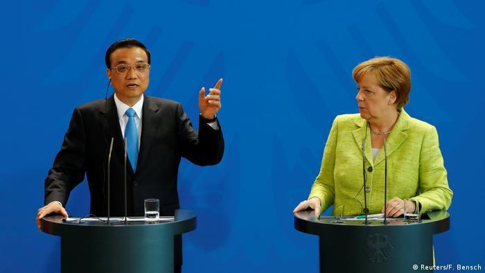 Deutschland Li Keqiang in Berlin