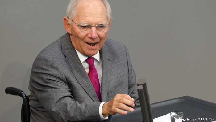 Finanzminister Wolfgang Schäuble (Getty Images/AFP/S. Yeh)