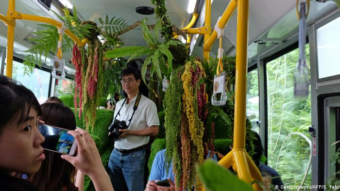 Taiwan Forest Bus in Taipei (Getty Images/AFP/S. Yeh)
