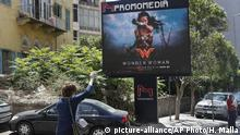 Libanon Filmverbot Wonder Woman