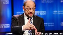 Internationales Europaforum Martin Schulz