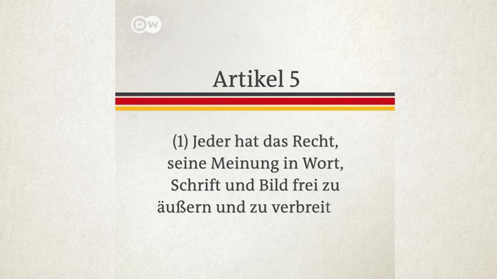 Grundgesetz Erklärvideo Vorschaubild DEU Artikel 5