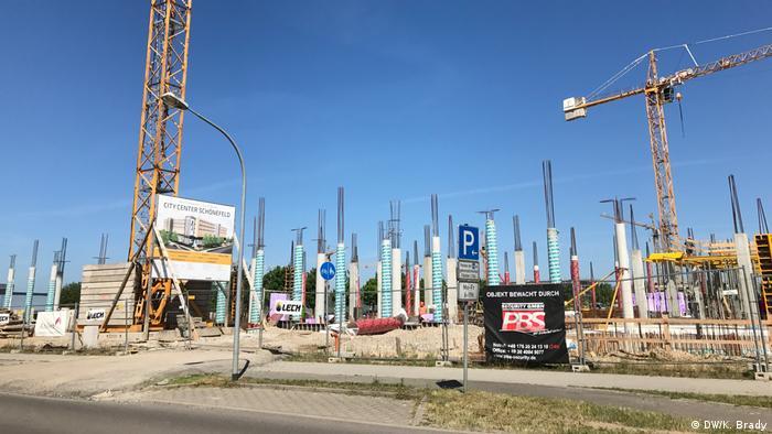 Flughafen BER Berlin Schönefeld Bauarbeit