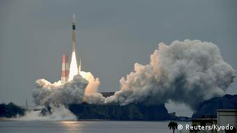 Japan Start GPS-Satellit Michibiki 2 (Reuters/Kyodo)