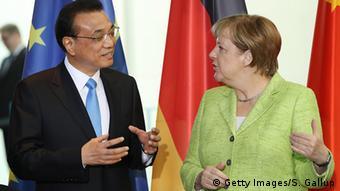 Deutschland China PK Angela Merkel und Li Keqiang