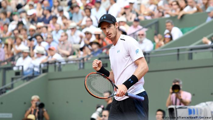 French Open - Roland Garros- Andy Murray (picture alliance/dpa/P. Lecoeur)