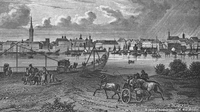Düsseldorf em 1850