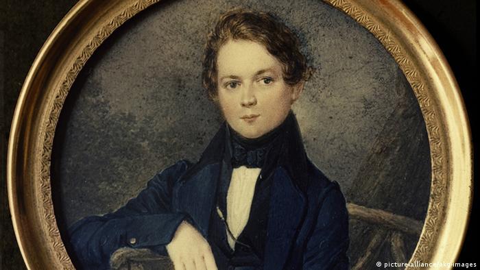 Robert Schumann na infância