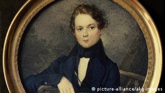 Robert Schumann als Jugendlicher