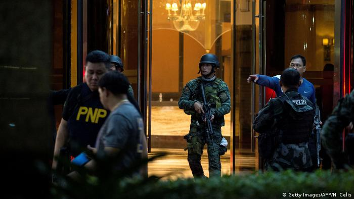 Philippinen Anschlag im Hotelkomplex Resorts World Manila (Getty Images/AFP/N. Celis)