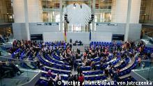 Bundestag alemán, en Berlín.