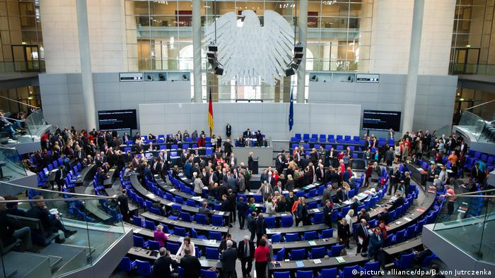 Bundestag - Pkw-Maut (picture alliance/dpa/B. von Jutrczenka)