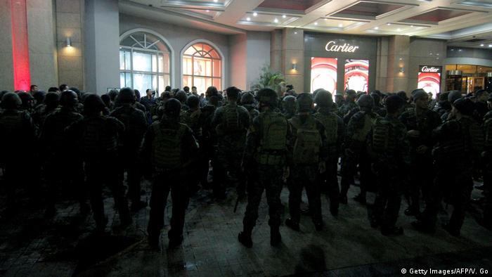 Philippinen Anschlag im Hotelkomplex Resorts World Manila (Getty Images/AFP/V. Go)