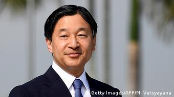 Ein Porträt von Japans Kronprinz Naruhito (Foto: Getty Images/AFP/M. Vatsyayana)