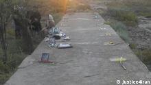 Ahwaz Friedhof von politischen Gefangenen, die 1988 im Iran hingerichtet wurden. Quelle: justice4iran