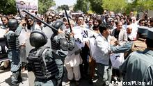 Aghanistan Kabul Protest Demonstration
