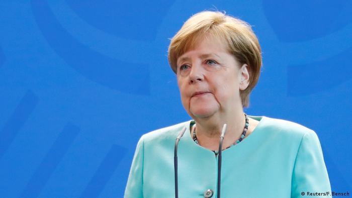 Angela Merkel PK Klimaabkommen