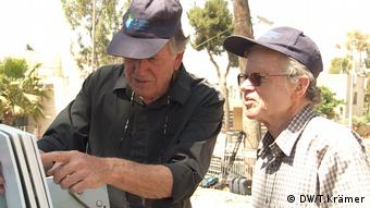 Moshe Milo Yoram Zamosch Haifa (DW/T.Krämer)