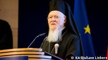 Berlin Konrad-Adenauer-Stiftung - Rede des Ökumenischen Patriarchen von Konstantinopel Bartholomäus zum Thema: Orthodoxie und Menschenrechte